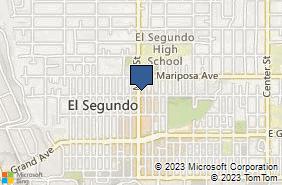 Bing Map of 508 Main St El Segundo, CA 90245