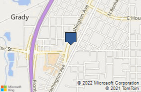 Bing Map of 509 S Washington Ave Ste 150 Cleveland, TX 77327