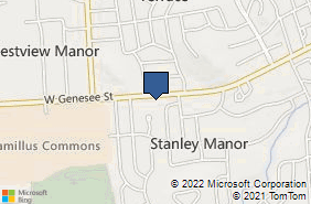Bing Map of 5099 W Genesee St Camillus, NY 13031