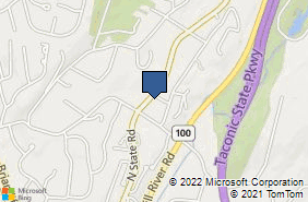 Bing Map of 510 N State Rd Briarcliff Manor, NY 10510