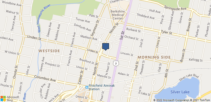 510 North St Pittsfield, MA, 01201 Map