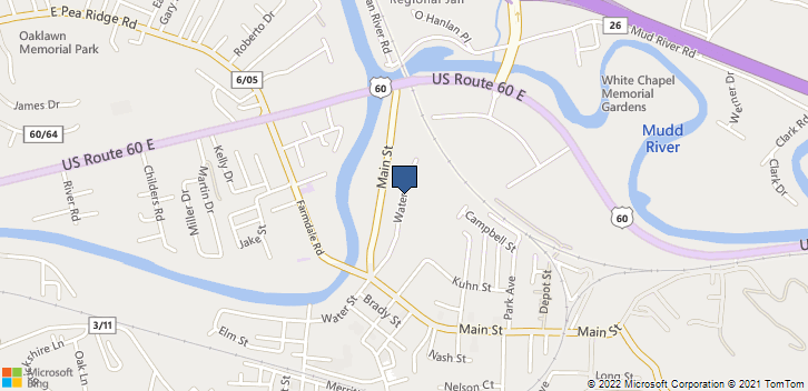 512 Water St Barboursville, WV, 25504 Map