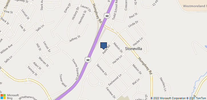 514 Pellis Rd Greensburg, PA, 15601 Map
