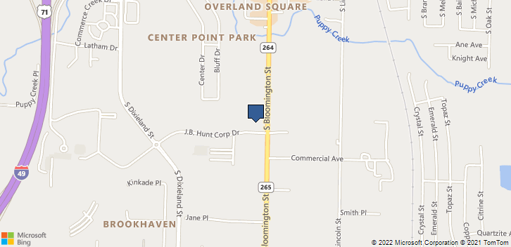 514 S Bloomington St Lowell, AR, 72745 Map