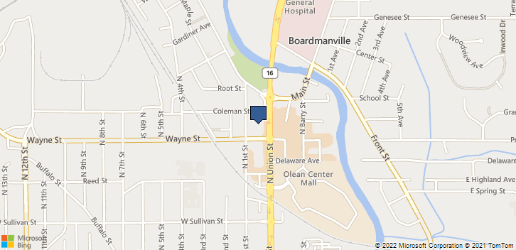 515 N Union St Olean, NY, 14760 Map