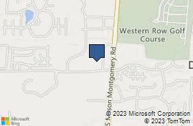 Bing Map of 5158 Cedar Village Dr Ste G Mason, OH 45040