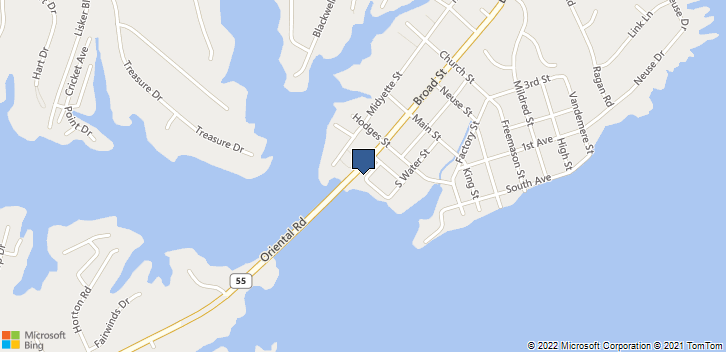 516 South Waters Street Unit C Oriental, NC, 28571 Map