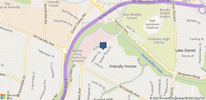 520 N Elam Ave Greensboro, NC, 27403 Map