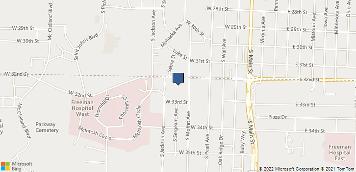 522 W 32nd St Joplin, MO, 64804 Map
