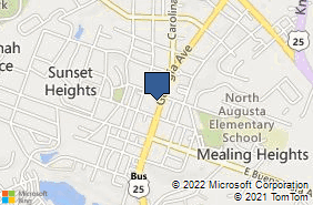 Bing Map of 524 Georgia Ave Ste 1 North Augusta, SC 29841