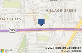 Bing Map of 5255 Transmountain Dr Ste 3 El Paso, TX 79924