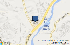 Bing Map of 5256 S Mission Rd Ste 906 Bonsall, CA 92003