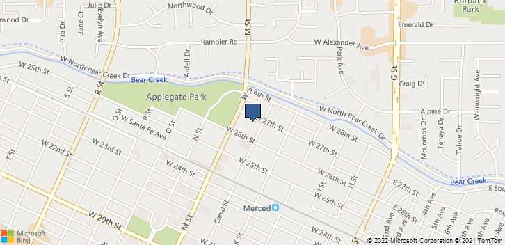 528 W 27th St Merced, CA, 95340 Map