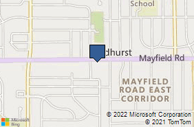 Bing Map of 5294 Mayfield Rd Ste 100 Lyndhurst, OH 44124