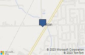Bing Map of 52947 Gratiot Ave Chesterfield, MI 48051