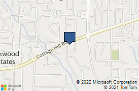 Bing Map of 5311 Cottage Hill Rd Mobile, AL 36609