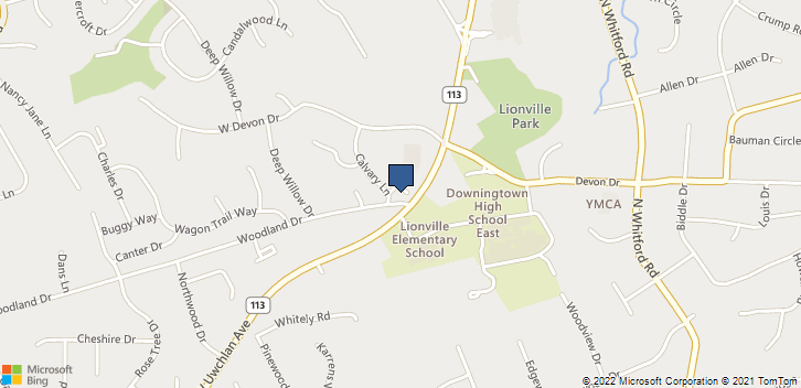 533 West Uwchlan Avenue Downingtown, PA, 19335 Map