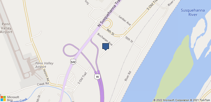 535 Old Trl Hummels Wharf, PA, 17831 Map