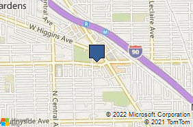 Bing Map of 5362 W Lawrence Ave Chicago, IL 60630