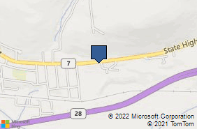 Bing Map of 5366 State Highway 7 Oneonta, NY 13820