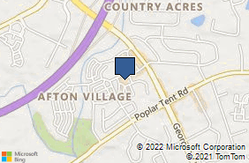 Bing Map of 5411 Village Dr Nw Concord, NC 28027