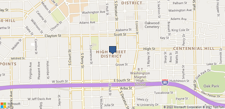 543 S Hull St Montgomery, AL, 36104 Map