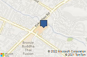 Bing Map of 5433 Clayton Rd Ste A Clayton, CA 94517