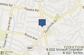 Bing Map of 5454 New Cut Rd Ste 2 Louisville, KY 40214