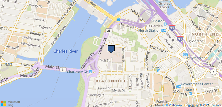 55 Fruit St Grb 241 Boston, MA, 02114 Map
