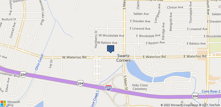 55 W Waterloo Rd Akron, OH, 44319 Map