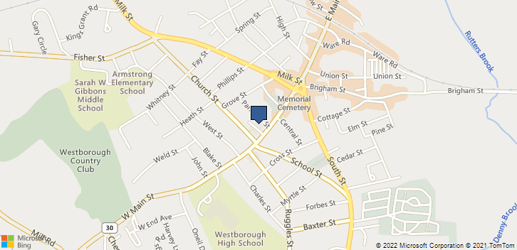 55 West Main ST. Westborough, MA, 01581 Map
