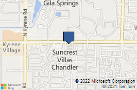 Bing Map of 5505 W Chndlr Blvd Ste 6 Chandler, AZ 85226