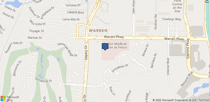 5575 Warren Pkwy Frisco, TX, 75034 Map