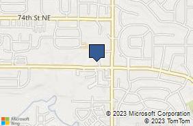 Bing Map of 560 Boyson Rd Ne Ste C Cedar Rapids, IA 52402