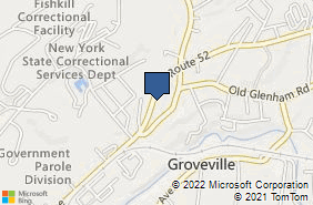 Bing Map of 560 Route 52 Ste 104 Beacon, NY 12508