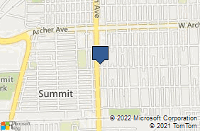 Bing Map of 5657 S Harlem Ave Chicago, IL 60638