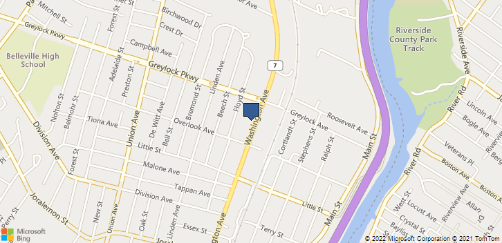 569 Washington Ave Belleville, NJ, 07109 Map
