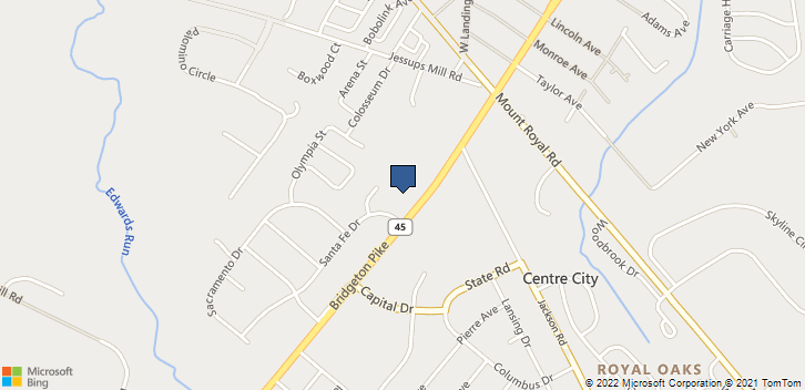570 Bridgeton Pike Mantua, NJ, 08051 Map