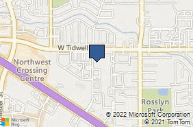 Bing Map of 5700 Nw Central Dr Ste 200 Houston, TX 77092