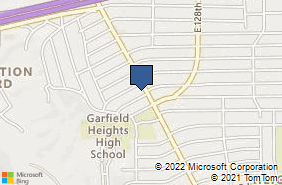 Bing Map of 5706 Turney Rd Ste 202 Garfield Heights, OH 44125