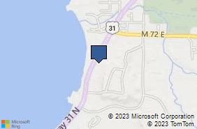 Bing Map of 5756 Us 31 N Acme, MI 49610