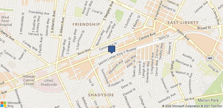 5820 Centre Ave Pittsburgh, PA, 15206 Map