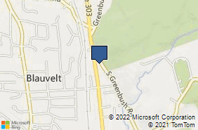 Bing Map of 589 Route 303 Blauvelt, NY 10913