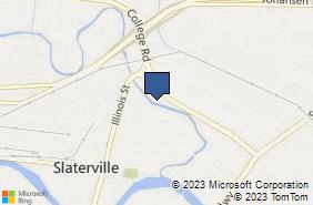 Bing Map of 59 College Rd Ste 205 Fairbanks, AK 99701