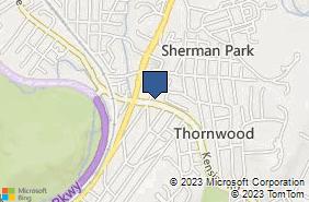 Bing Map of 59 Kensico Rd Thornwood, NY 10594