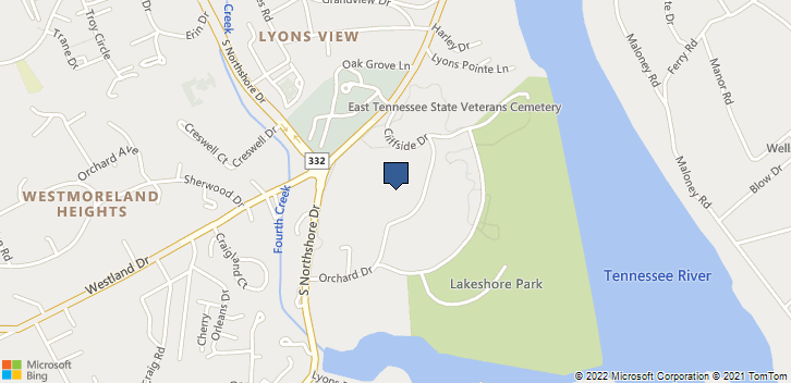 5908 Lyons Vw Pike Knoxville, TN, 37919 Map