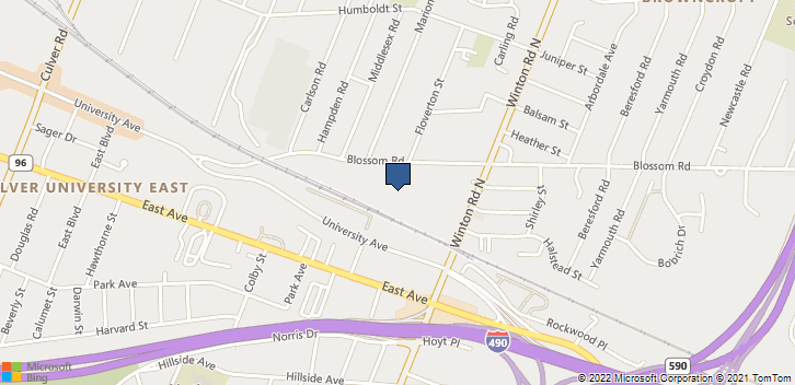 595 Blossom Road Suite 100 Rochester, NY, 14610 Map