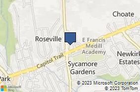 Bing Map of 6 Polly Drummond Hill Rd Newark, DE 19711