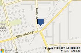 Bing Map of 601 Division St North Tonawanda, NY 14120