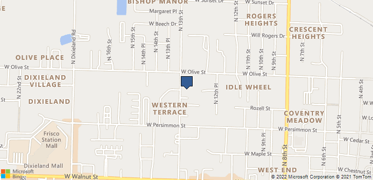 601 N 13th St Rogers, AR, 72756 Map